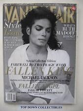 Vanity Fair Magazine  Sept.  2009   Michael Jackson & Farrah Fawcett Special