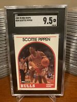 1989 NBA Hoops Scottie Pippen SGC 9.5 Mint #244 Bulls