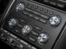 Nissan GT-R stereo radio knobs dials aluminum custom 09-16 interior carbon panel