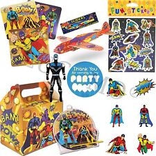 Superhero Party Bag & Fillers Pre Filled Boys Birthday Party Bags For Kids