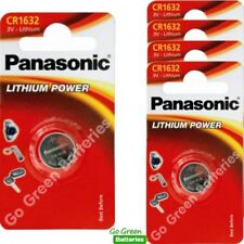 5 x Panasonic CR1632 3V Lithium Coin Cell Battery 1632 DL1632 BR1632 EXP 2028