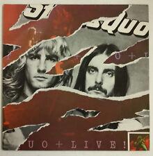 Status Quo Live! 2-LP UK 1977 Portada gatefold