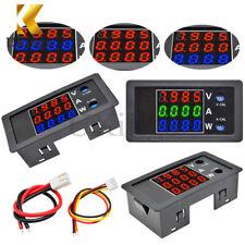 4 Digit High Precision Multicolor DC 100V 10A 1000W Voltage Current Power Meter