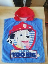 Paw Patrol Hooded Poncho Towel