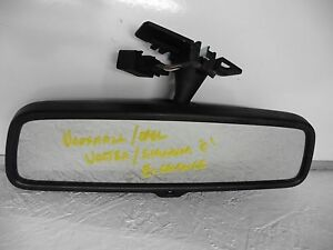 VAUXHALL VECTRA C SIGNUM REAR VIEW MIRROR 24438231 SELF AUTO DIPPING