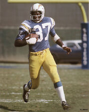 CID EDWARDS SAN DIEGO CHARGERS 8X10 PHOTO
