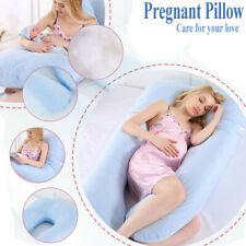 U Shape Pregnant Pillow w/ Cover for Baby Feeding/Maternity Nursing/Back Support