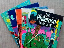 Philémon : Lot EO : 3+4+6+7+8 [Fred / Dargaud]
