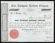 185_ Connecticut: East Thompson Railroad Company