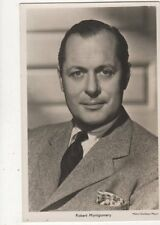 Robert Montgomery Vintage RP Postcard Actor 572a