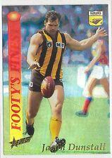 1995 Select Footy's Finest Jason Dunstall Hawthorn