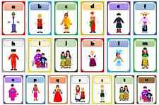 multicultural diversity people around the world flashcard alphabet frieze a - z