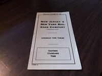 OCTOBER 1955 ERIE RAILROAD FORM 10 NEW JERSEY & NEW YORK RAILROAD