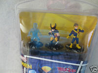Marvel Wolverine And The X-Men HEROCLIX TabApp 3-PACK kid Collective Mini Figure