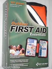 Outdoor First Aid Kit, Soft pack, 107 Pieces by First Aid Only (1 Each)