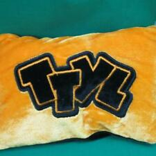 TTYL TALK TO YOU LATER TEXT TEXTING ORANGE BLACK PILLOW PLUSH INTERNE PHONE CHAT