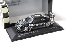 1:43 Minichamps Mercedes CLK DTM 2001 u. Alzen #5 eras New en Premium-modelcars