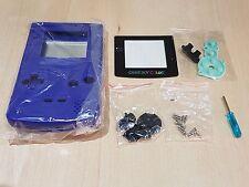 Nintendo Gameboy Color GBC reemplazo Púrpura Nuevo Shell Carcasa herramientas Game Boy