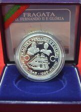 1996-1000 Esc Frigate Ferdinand II and Gloria Silver lp PORTUGAL