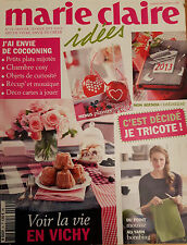 MARIE CLAIRE IDEES N°94 JANVIER FEVRIER 2013  REVUE TRICOT LE VICHY MOSAIQUE