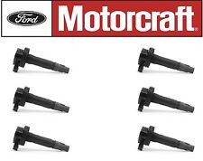 6+ Genuine Motorcraft Ignition Coil DG520 7T4Z12029E & 6+ MOTORCRAFT PLUG SP520