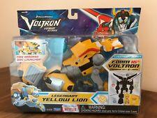 Dreamworks Voltron Legendary Defender: Legendary Yellow Lion (New/Unopened)