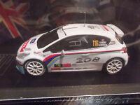 Peugeot 208 t16 r5 rallye ypres 2013  Meeke IXO 1/43      15