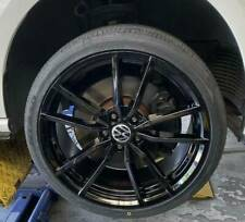 """4X BRAND NEW PRETORIA  STYLE GOLF R 19"""" & NEW NITTO JAPANESE TYRES FOR VW CADDY"""