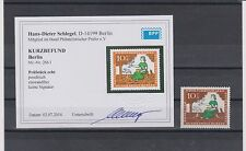 Berlin 266 I Wohlfahrt postfrisch mit seltenem Plattenfehler BPP-Befund