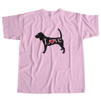I Love English Beagle Hound Puppy Dog Pet Lover Puppy Unisex Tee T-Shirt Gift