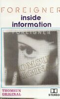 Foreigner .Inside Information. Import Cassette Tape