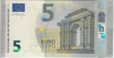 European Union Banknote P20u 5 Euro 2013 Prefix UD, Plate U006G4, UNC
