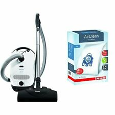 Miele Classic C1 Cat and Dog Canister Vacuum Cleaner & Miele 10123210 AirClean