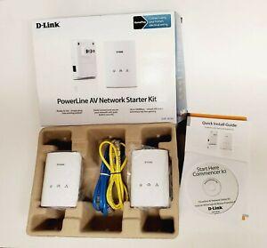 D-Link DHP-307AV Powerline AV Network Adapter Kit NEW