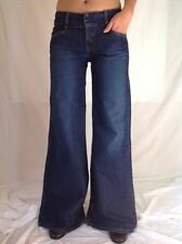 Denim Low Flare Jeans for Women