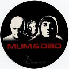 Mum & Dad Twisted Nerve Promo Sticker
