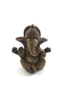 "Pinnacle Handicraft ~ Small Resin Ganesh Statue ~ 2.5"" Tall"