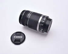 Canon Zoom Lens EF-S 55-250mm f/4-5.6 IS & Caps  (#5674)