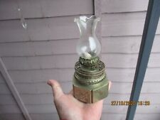 A Small Antique Chinese Oil Lamp c1900