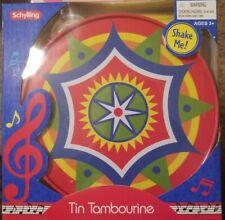 Children's Tin Tambourine by Schylling / New in Box