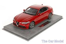 Alfa Romeo Giulia Veloce Rosso Competizione, Ltd 36 pcs w/ Case BBR 1/18