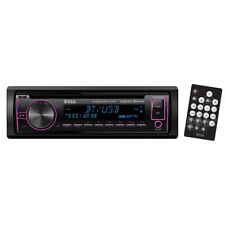 Boss Single Din CD/MP3 ReceiverMulti-Color Display Bluetooth USB Front 750BRGB
