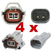 Pluggen injectoren - NIPPON DENSO (4 x SET) connector plug verstuiver injectie