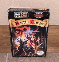 Nintendo NES Battle Chess Authentic Original 1990 Empty Box & Styrofoam Only