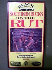 Black Water Hunting Video ~ Southern Bucks in the Rut (1992, Vhs) Htf Oop