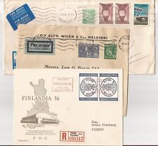 Finland- 3 covers at low price- 1 to Scotland & 1 to U.S.