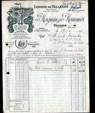 """VELLEXON (70) LESSIVE / SAVON parfumé à la violette """"MAGNIN & MAMMES"""" en 1925"""