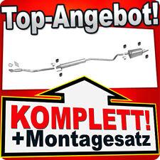 Auspuff OPEL COMBO C 1.6 8V +Rohr Vorne Flexrohr Auspuffanlage R61