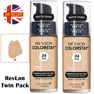 Revlon Colorstay Foundation 24HRs combination/oily or normal/dry skin 30ml BUFF