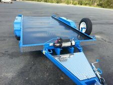 Car Trailer --Manual --TILT BED 4.8 METERS X 2.030 METERS